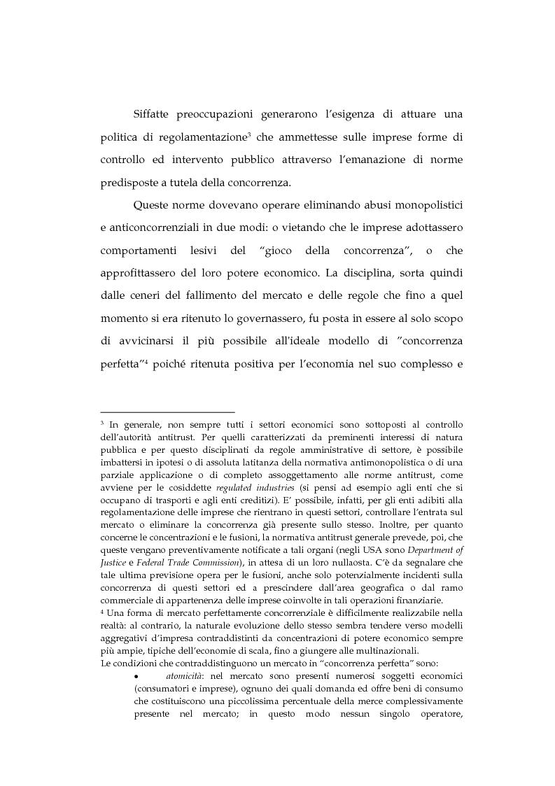 Anteprima della tesi: La tutela della concorrenza negli Stati Uniti: il caso Microsoft, Pagina 7
