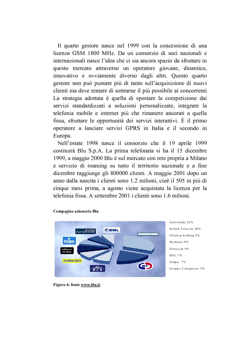 Anteprima della tesi: L'analisi del posizionamento strategico delle imprese. il caso della telefonia mobile, Pagina 11