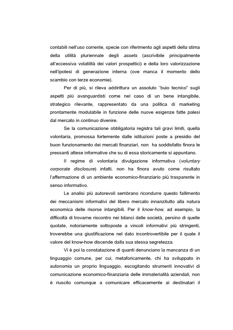 Anteprima della tesi: Le risorse intangibili nella comunicazione economico-finanziaria d'impresa, Pagina 2
