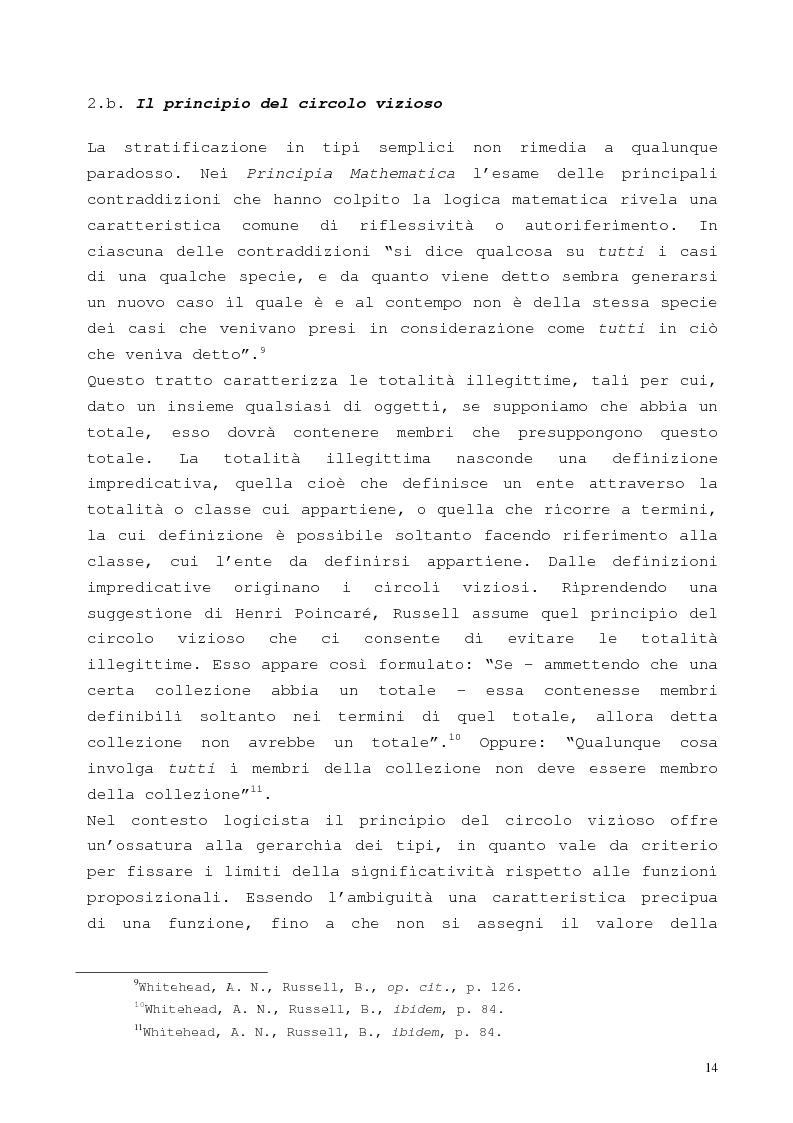 Anteprima della tesi: La proposizione di Godel, Pagina 10