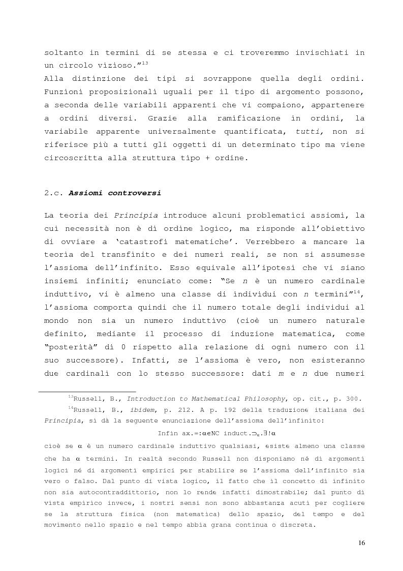 Anteprima della tesi: La proposizione di Godel, Pagina 12