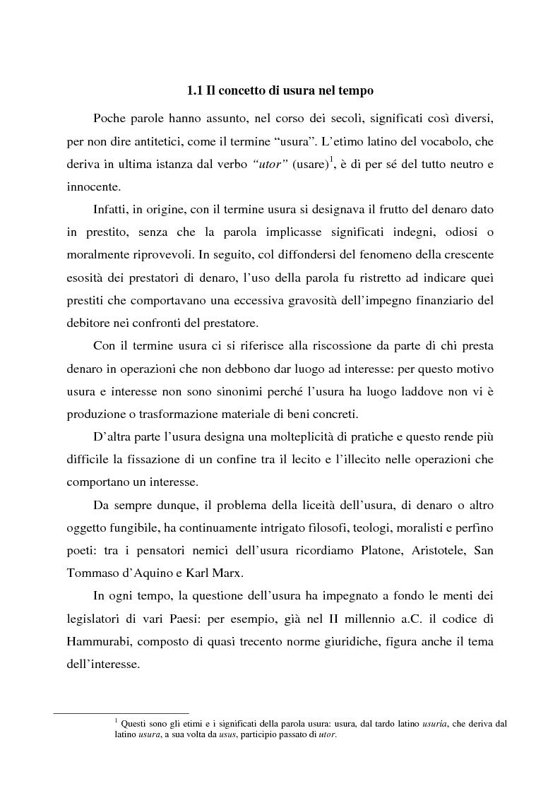 Anteprima della tesi: Profili dell'usura e della polemica antiebraica nel Rinascimento. Il ''mercante di Venezia'' di Shakespeare, Pagina 5