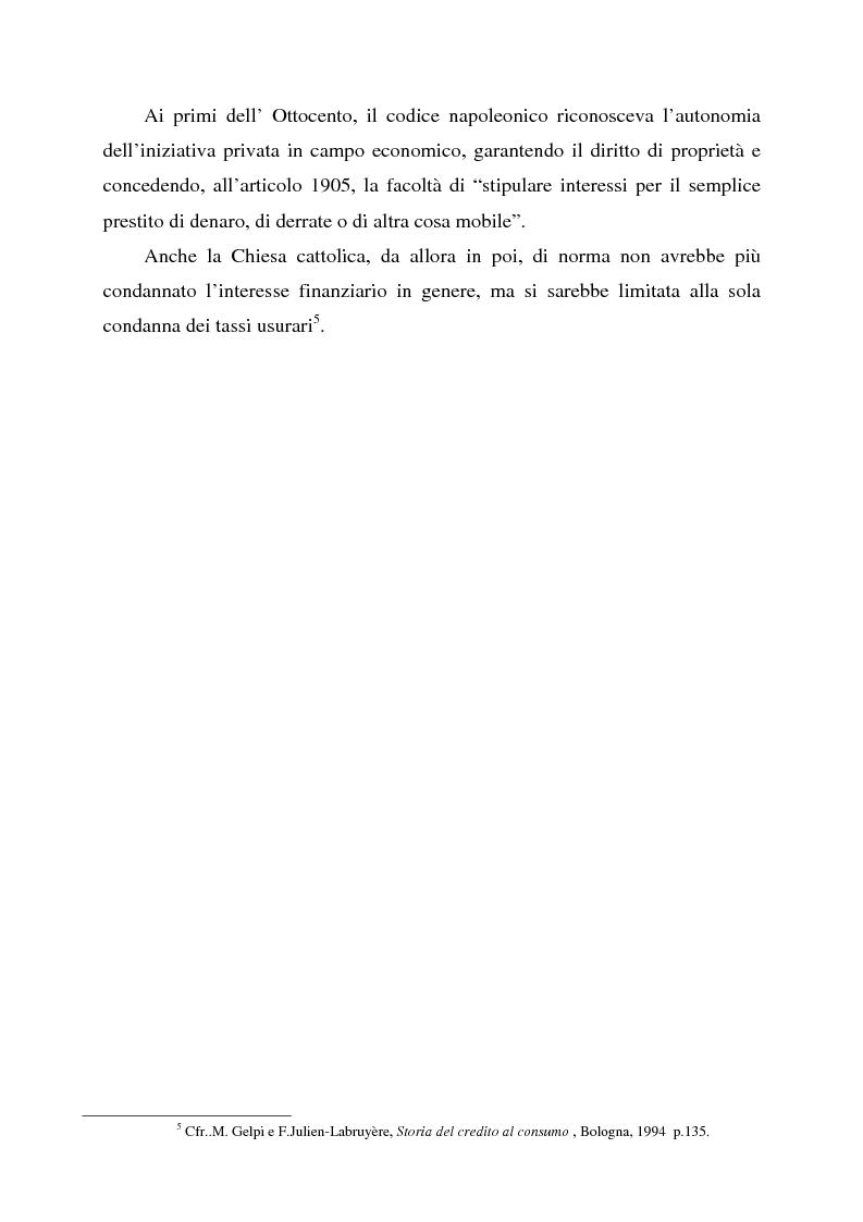 Anteprima della tesi: Profili dell'usura e della polemica antiebraica nel Rinascimento. Il ''mercante di Venezia'' di Shakespeare, Pagina 9