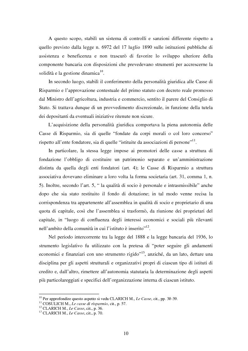 Anteprima della tesi: Natura e funzioni delle fondazioni bancarie, Pagina 5