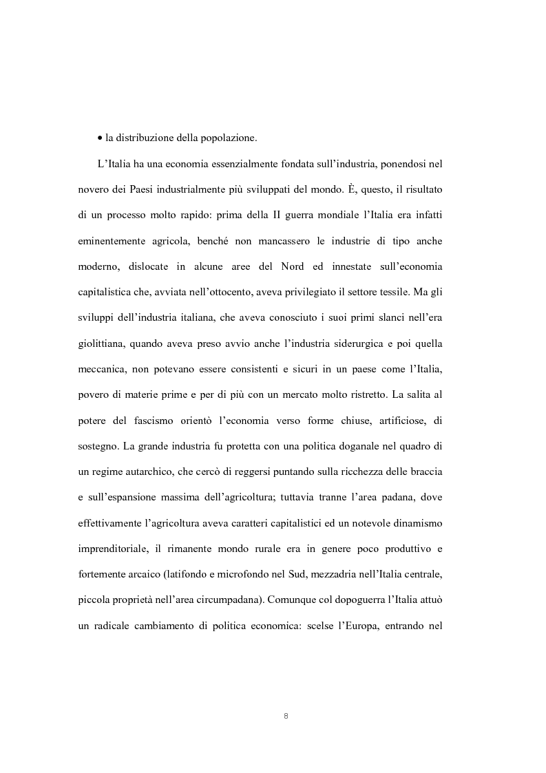 Anteprima della tesi: Il cabotaggio in Italia, Pagina 5