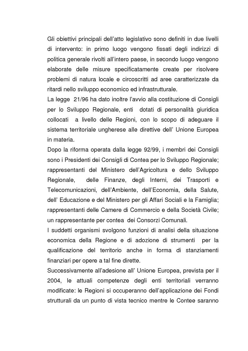 Anteprima della tesi: Imprese italiane in Ungheria. Storie di successo verso l'adesione all'Ue, Pagina 10