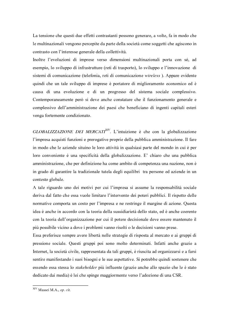 Anteprima della tesi: L'opinione pubblica come ''stakeholder'' emergente; pressioni sociali su Nike e Reebok e strategie di risposta, Pagina 10
