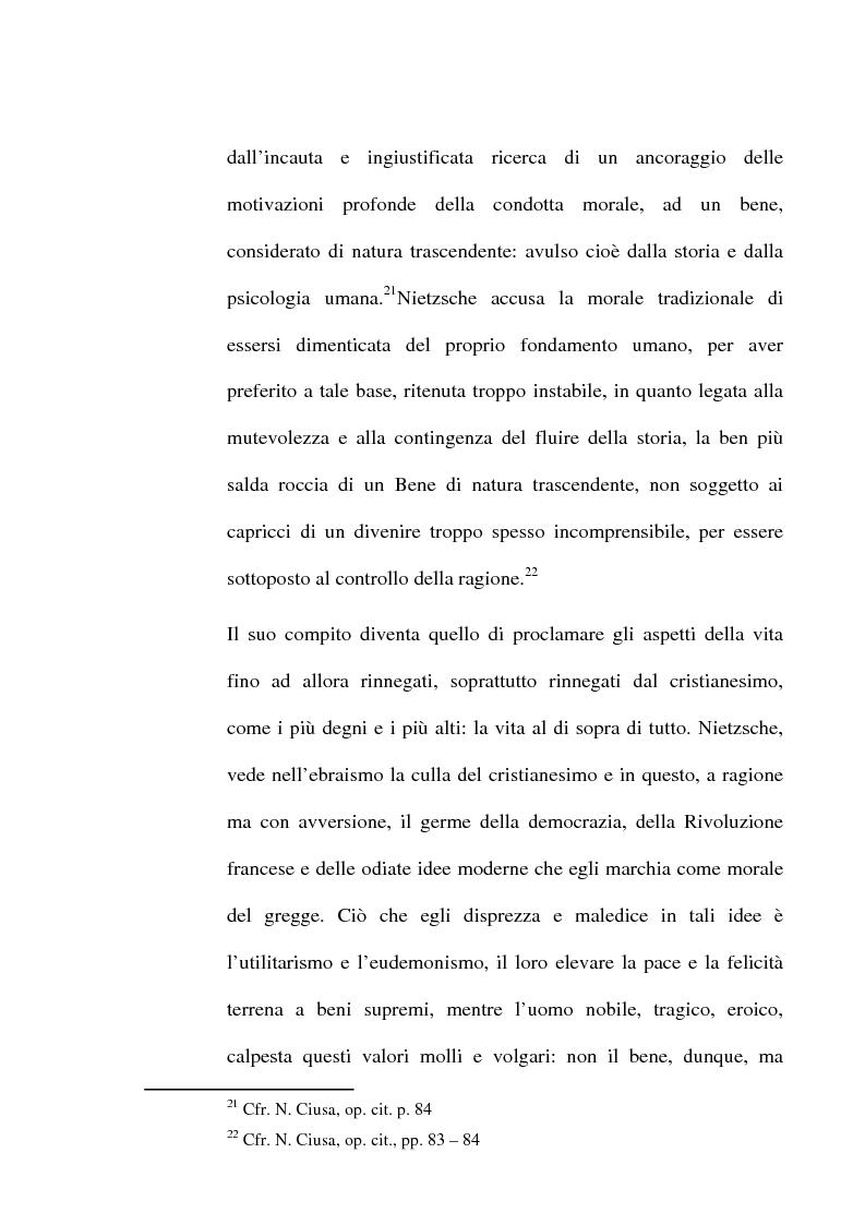 Anteprima della tesi: La critica della cultura in Friedrich Nietzsche, Pagina 11