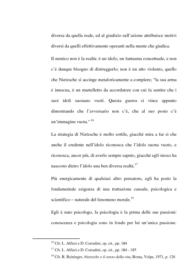 Anteprima della tesi: La critica della cultura in Friedrich Nietzsche, Pagina 8