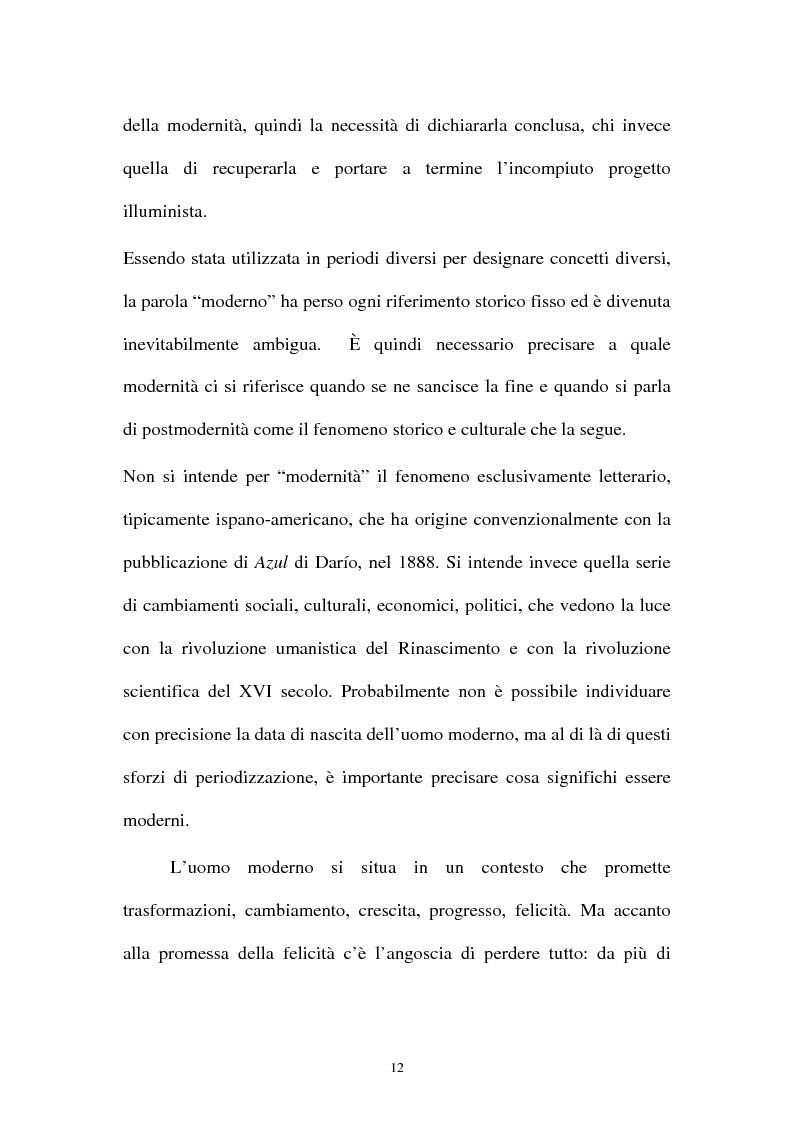 Anteprima della tesi: Il romanzo ispano-americano della postmodernità: Eliseo Alberto, Pagina 8