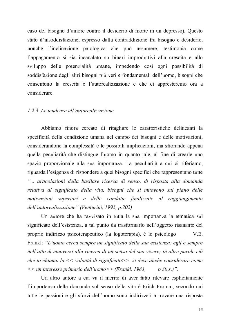 Anteprima della tesi: Itinerari di autorealizzazione. Formazione e stile di vita nell'ordine dei Frati Minori Rinnovati, Pagina 12