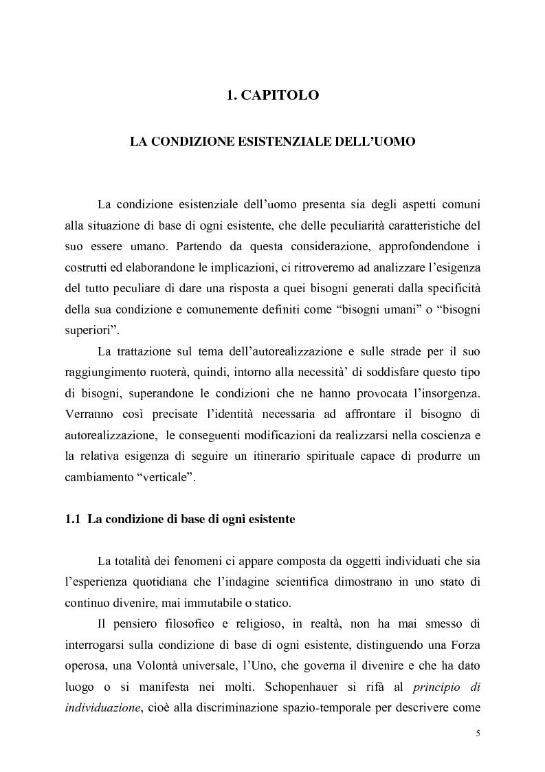 Anteprima della tesi: Itinerari di autorealizzazione. Formazione e stile di vita nell'ordine dei Frati Minori Rinnovati, Pagina 2