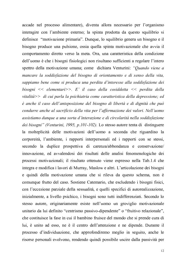 Anteprima della tesi: Itinerari di autorealizzazione. Formazione e stile di vita nell'ordine dei Frati Minori Rinnovati, Pagina 9