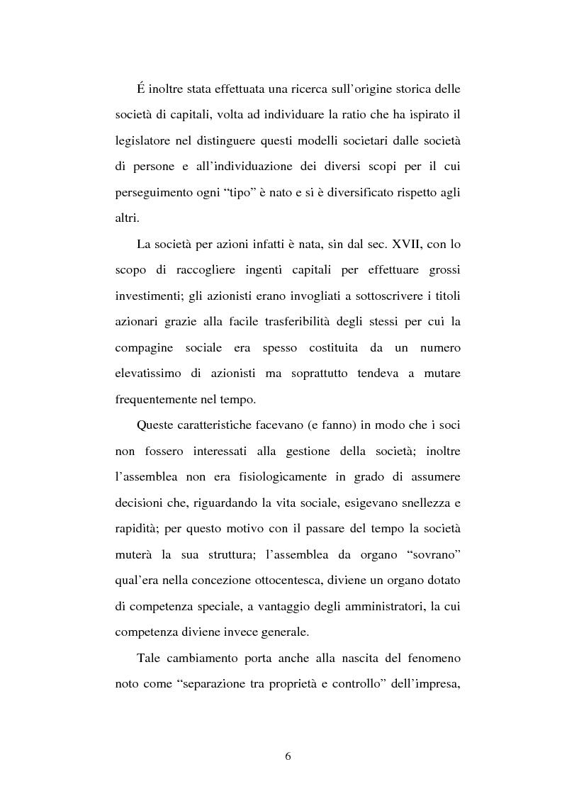 Anteprima della tesi: Assemblea e competenze gestorie, Pagina 3