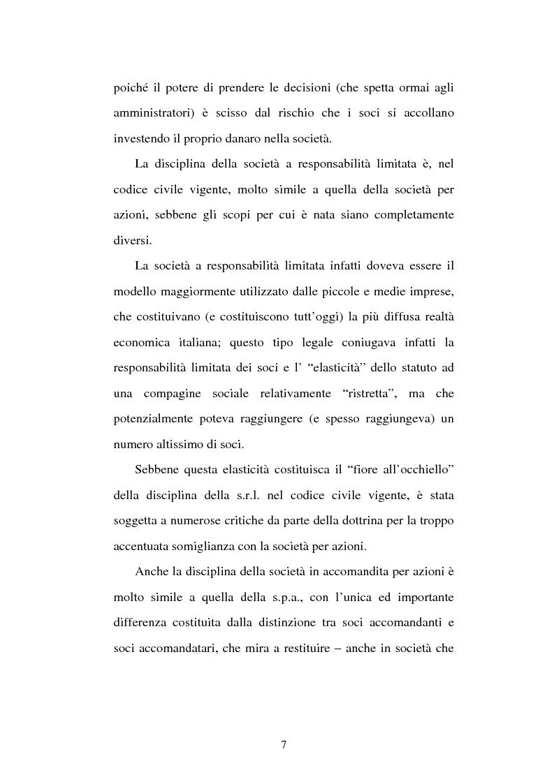 Anteprima della tesi: Assemblea e competenze gestorie, Pagina 4