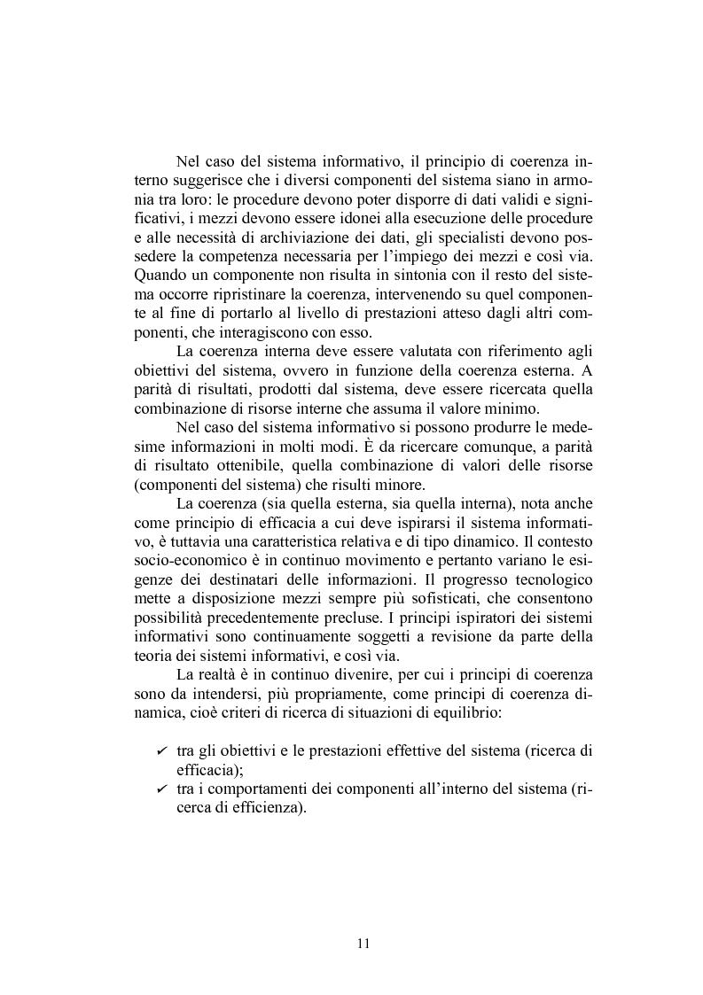 Anteprima della tesi: Sistema informativo aziendale per il controllo di gestione. Analisi di un caso, Pagina 11