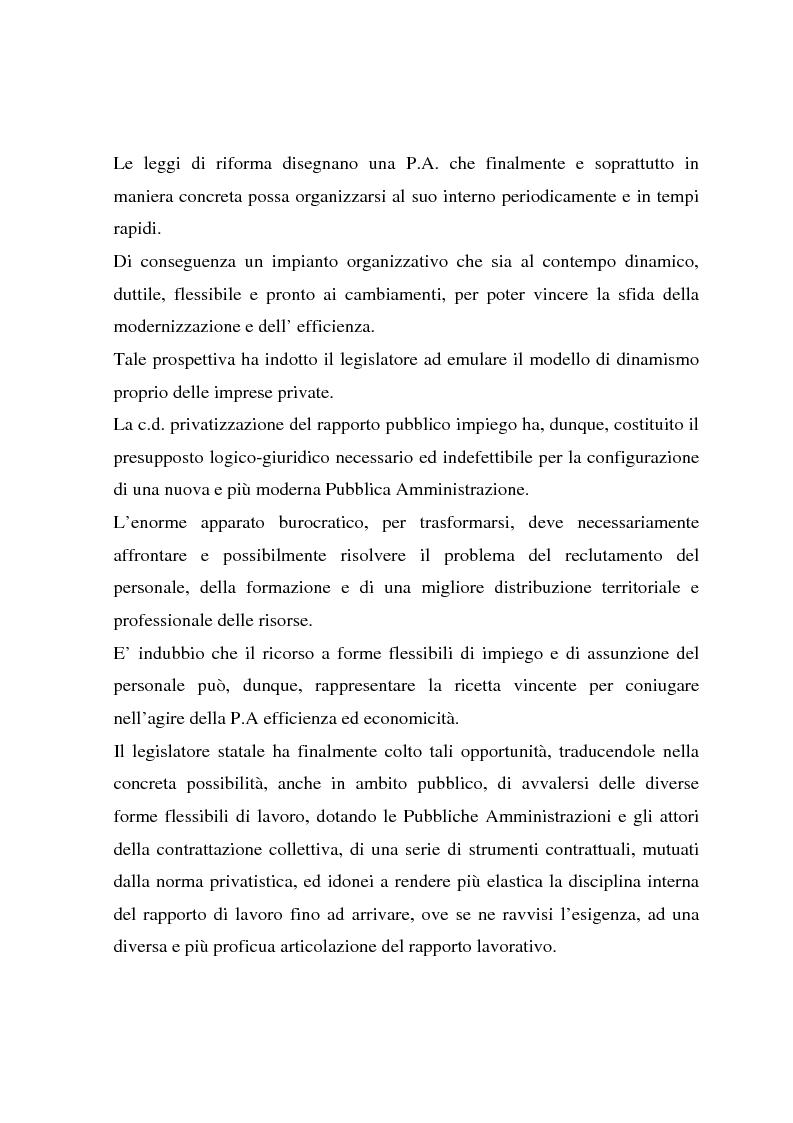 Anteprima della tesi: Telelavoro e pubblica amministrazione: opportunità e prospettive, Pagina 2