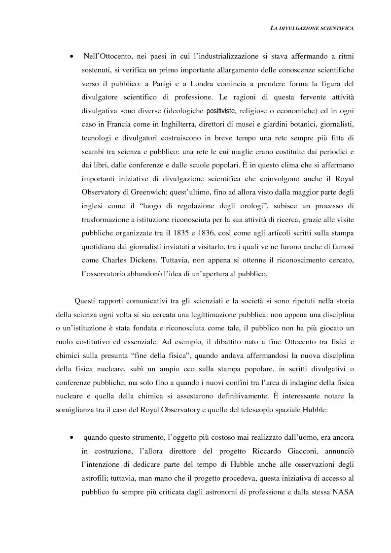 Anteprima della tesi: Ideazione e parziale realizzazione di un progetto di divulgazione dell'astrofisica per i comunicatori, Pagina 11