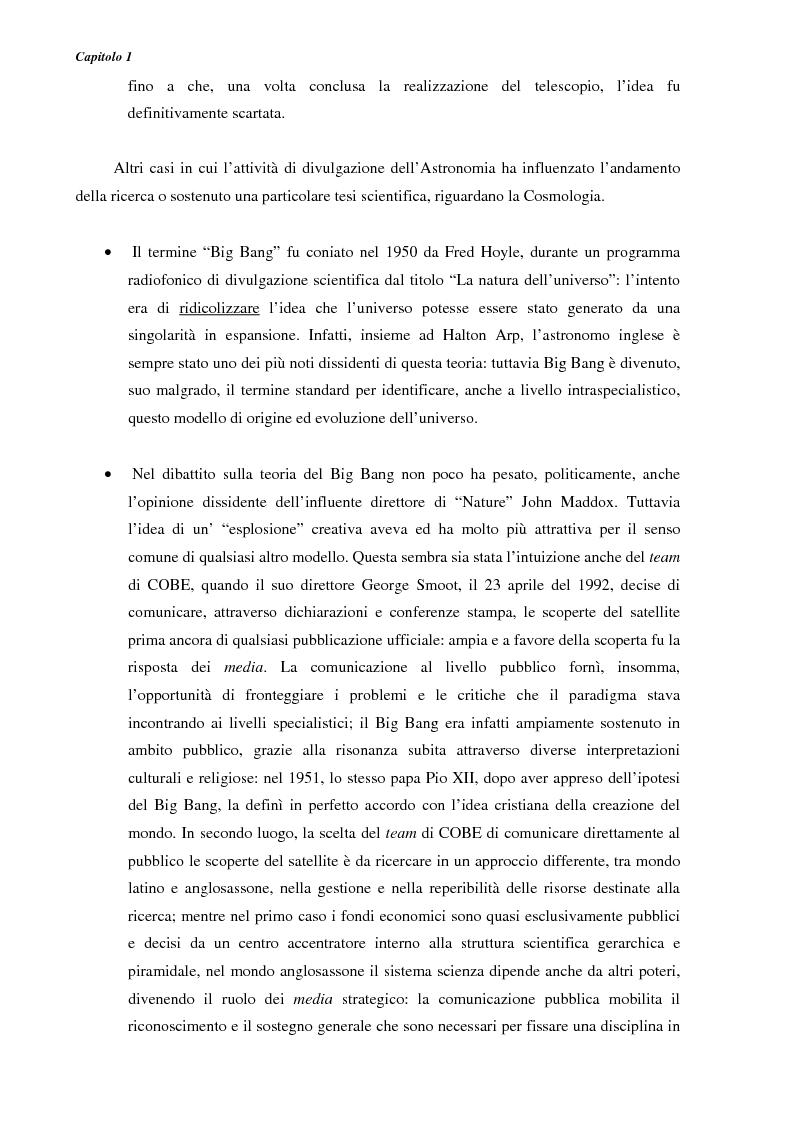 Anteprima della tesi: Ideazione e parziale realizzazione di un progetto di divulgazione dell'astrofisica per i comunicatori, Pagina 12