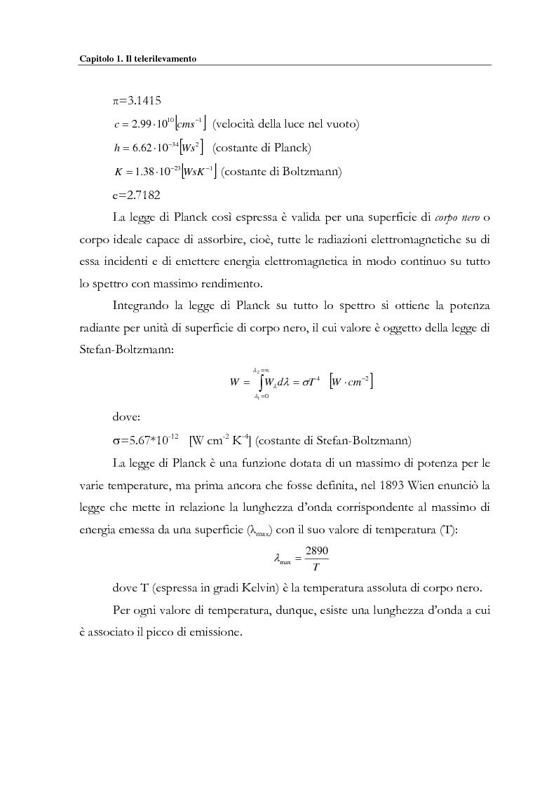 Anteprima della tesi: Evoluzione spazio temporale della copertura vegetale attraverso tecniche di telerilevamento satellitare, Pagina 11