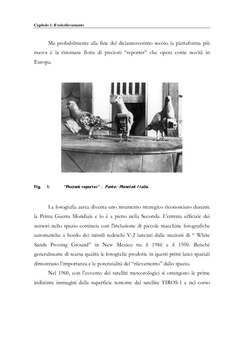 Anteprima della tesi: Evoluzione spazio temporale della copertura vegetale attraverso tecniche di telerilevamento satellitare, Pagina 5