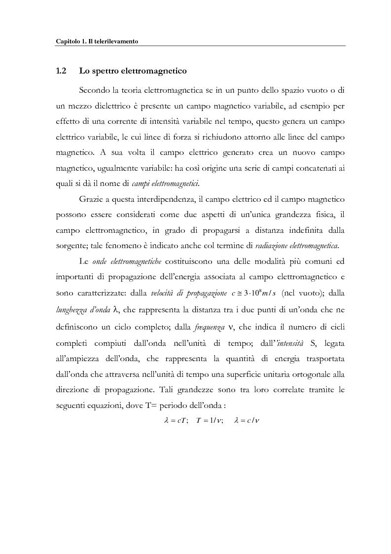 Anteprima della tesi: Evoluzione spazio temporale della copertura vegetale attraverso tecniche di telerilevamento satellitare, Pagina 8