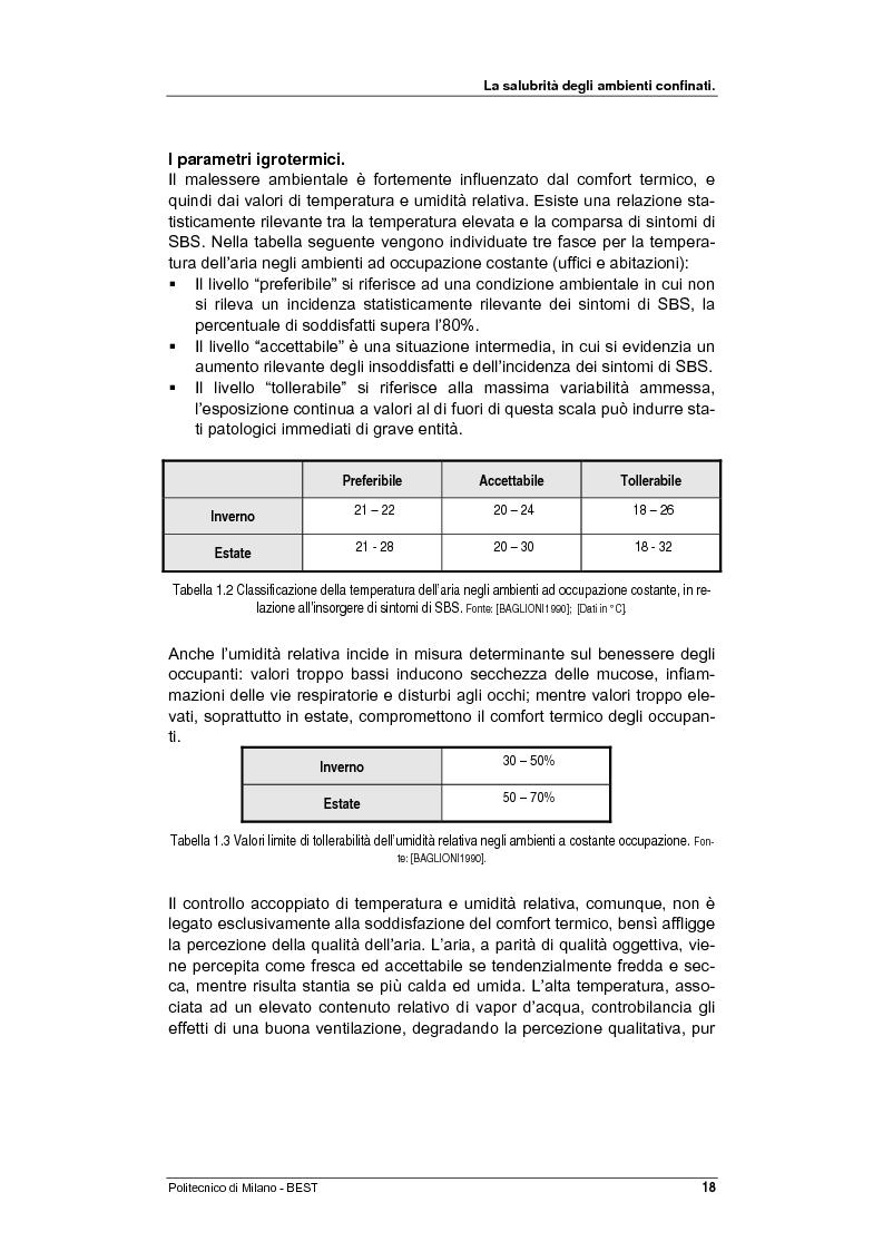 Anteprima della tesi: Dalla checklist al sistema informativo: strumenti di rilievo e metodi di valutazione della qualità negli ambienti di vita e di lavoro, Pagina 10