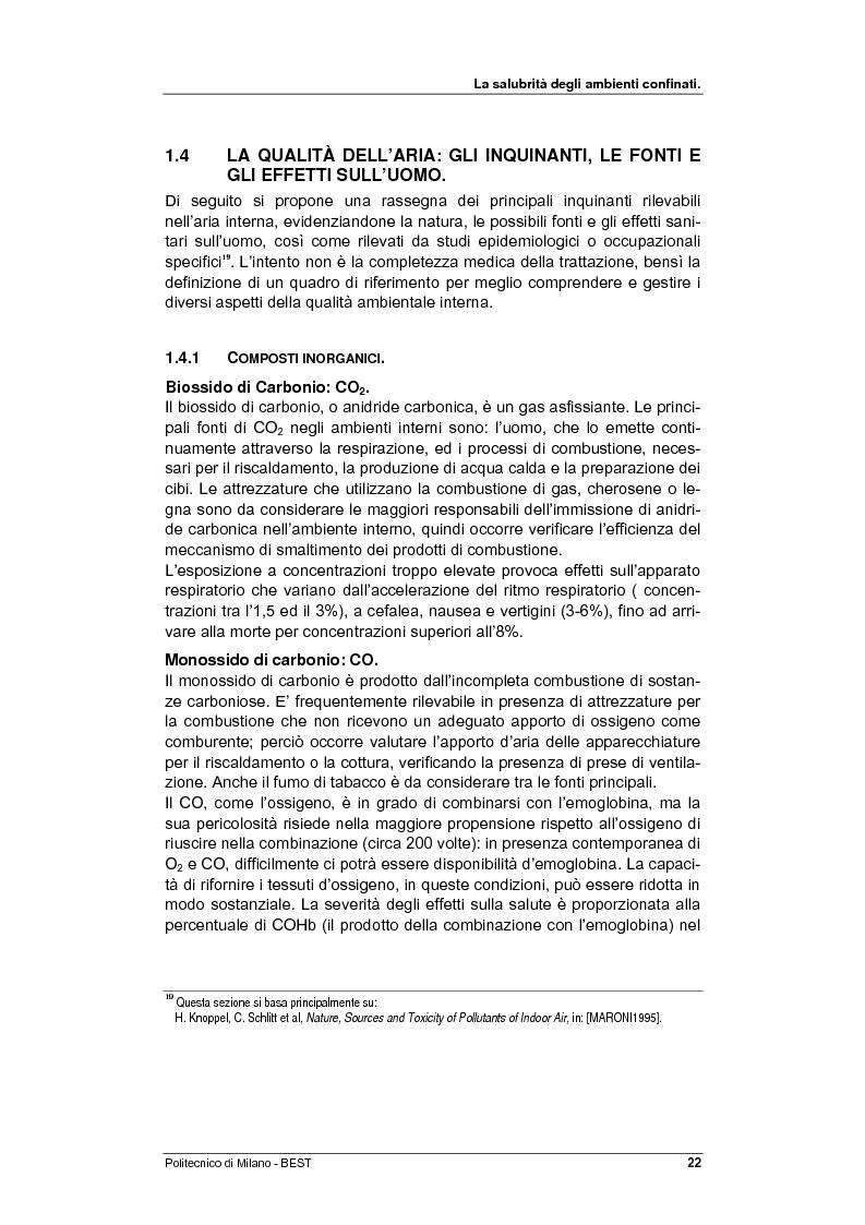 Anteprima della tesi: Dalla checklist al sistema informativo: strumenti di rilievo e metodi di valutazione della qualità negli ambienti di vita e di lavoro, Pagina 14