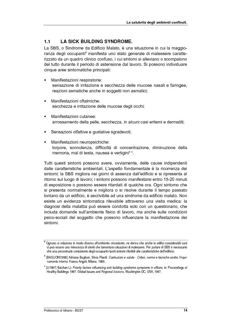 Anteprima della tesi: Dalla checklist al sistema informativo: strumenti di rilievo e metodi di valutazione della qualità negli ambienti di vita e di lavoro, Pagina 6