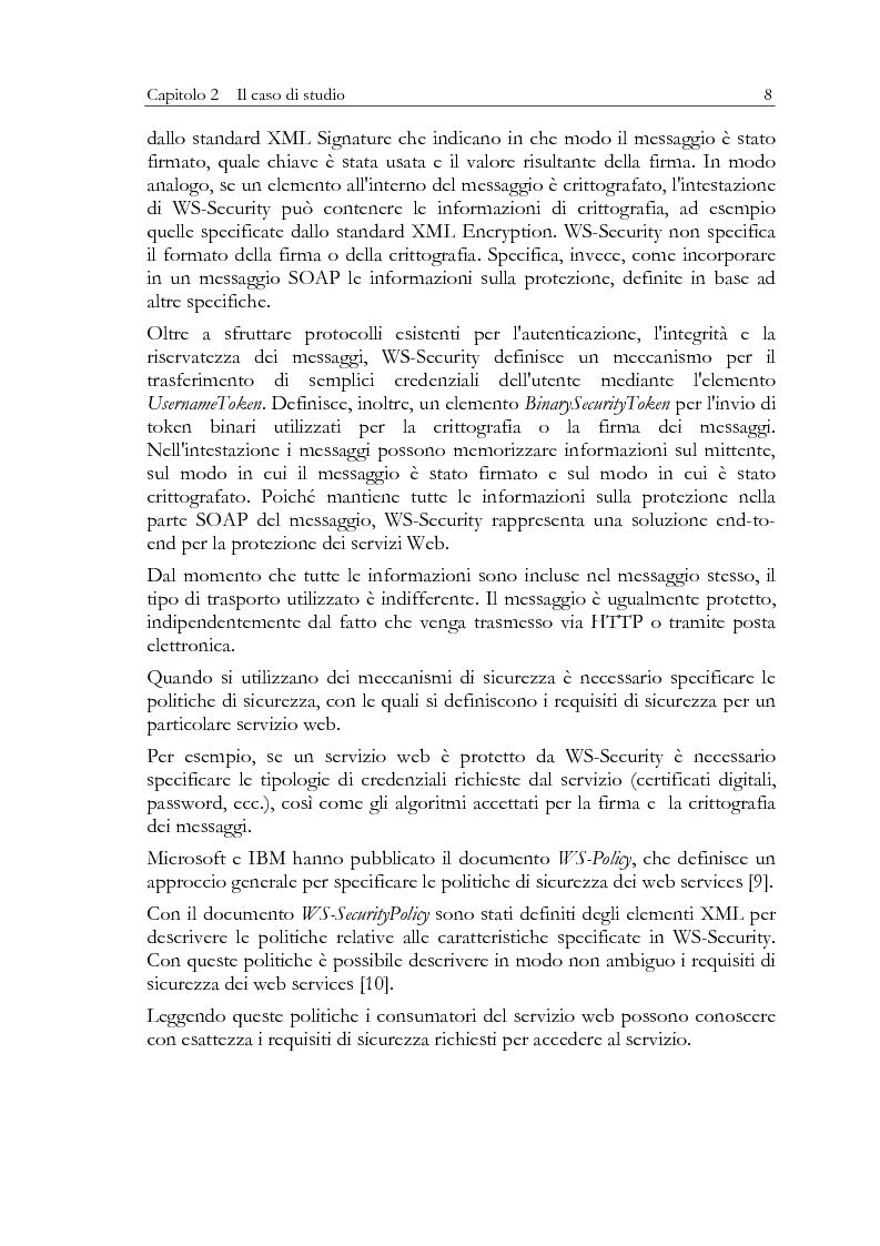 Anteprima della tesi: Aspetti di sicurezza dei web services, Pagina 4