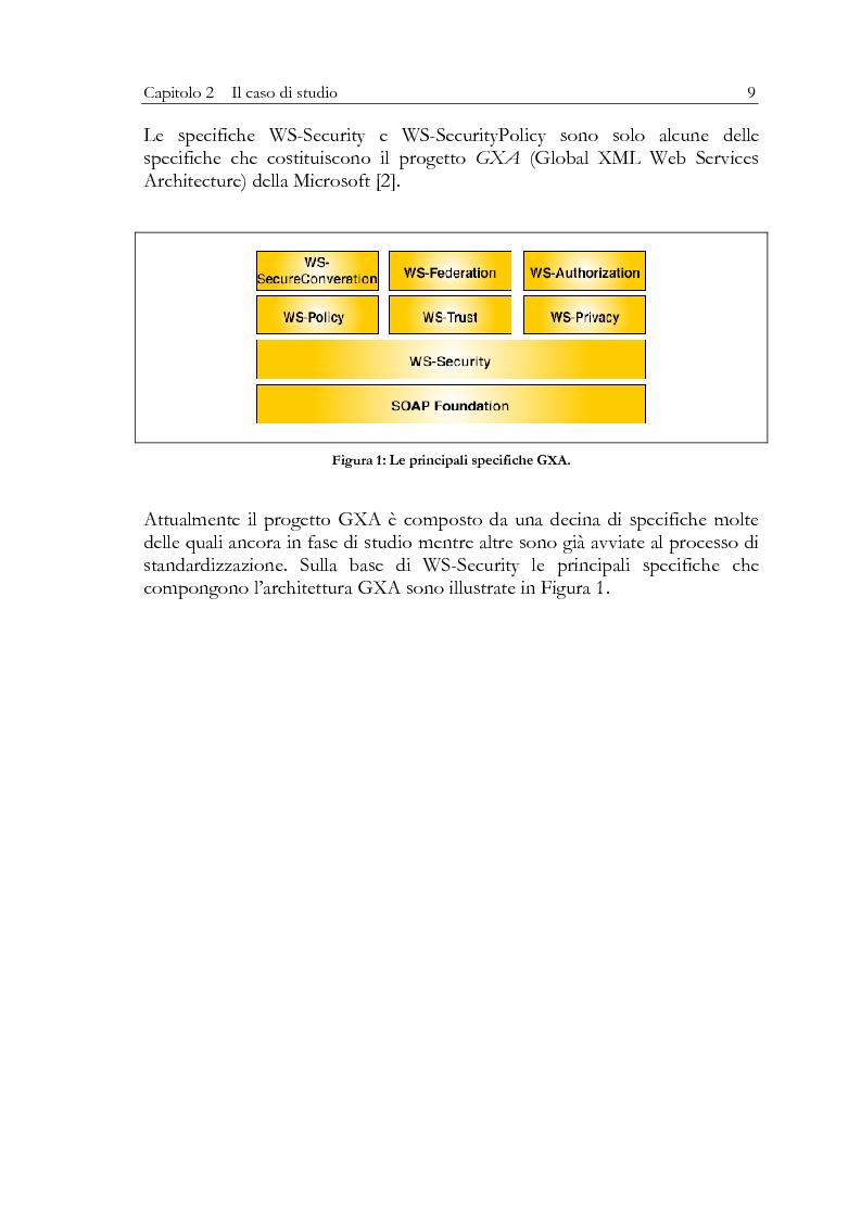 Anteprima della tesi: Aspetti di sicurezza dei web services, Pagina 5