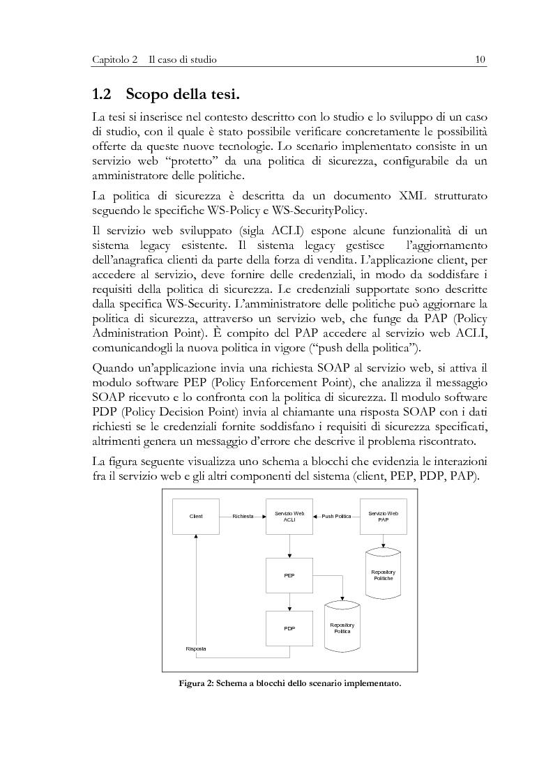 Anteprima della tesi: Aspetti di sicurezza dei web services, Pagina 6