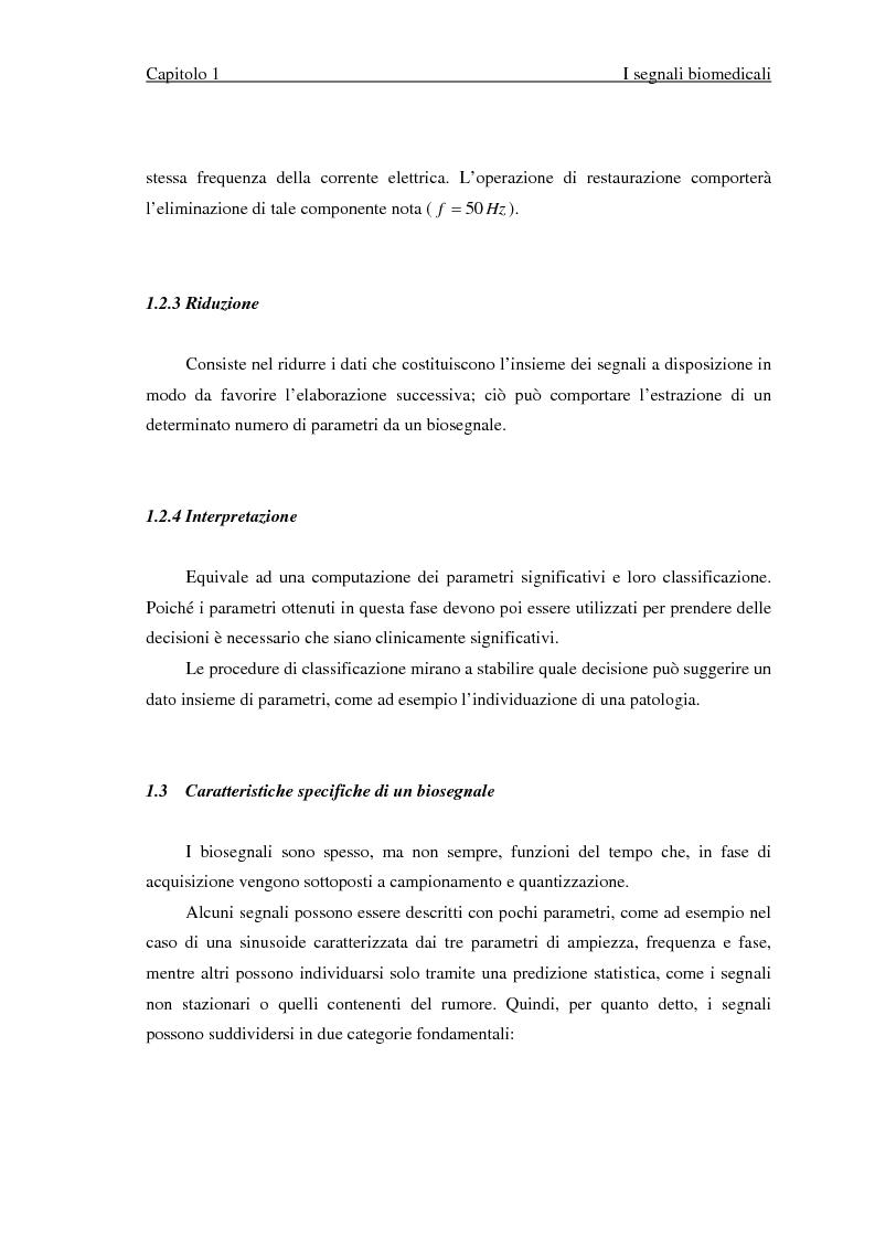 Anteprima della tesi: Valutazione di segnali posturografici: analisi nei domini del tempo e delle frequenze, Pagina 6