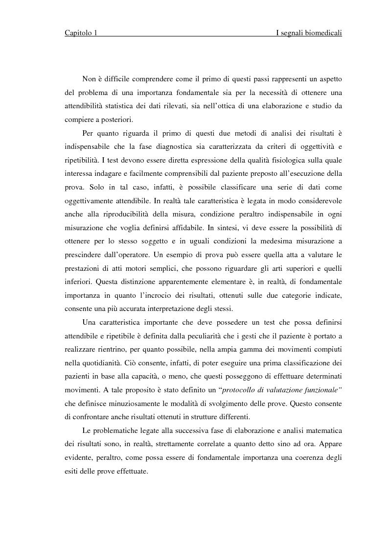 Anteprima della tesi: Valutazione di segnali posturografici: analisi nei domini del tempo e delle frequenze, Pagina 9