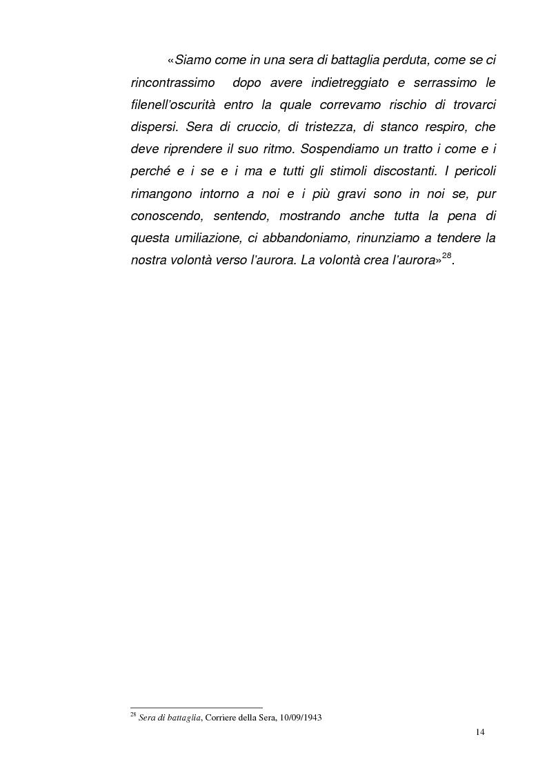Anteprima della tesi: La Repubblica di Salò attraverso le pagine del Corriere della Sera: gli eventi, le cronache, i commenti, Pagina 13