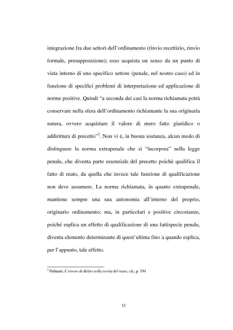 Anteprima della tesi: Ignorantia legis scusabile ed inescusabile. Orientamenti dottrinari e giurisprudenziali con particolare riferimento al settore ambientale, Pagina 10