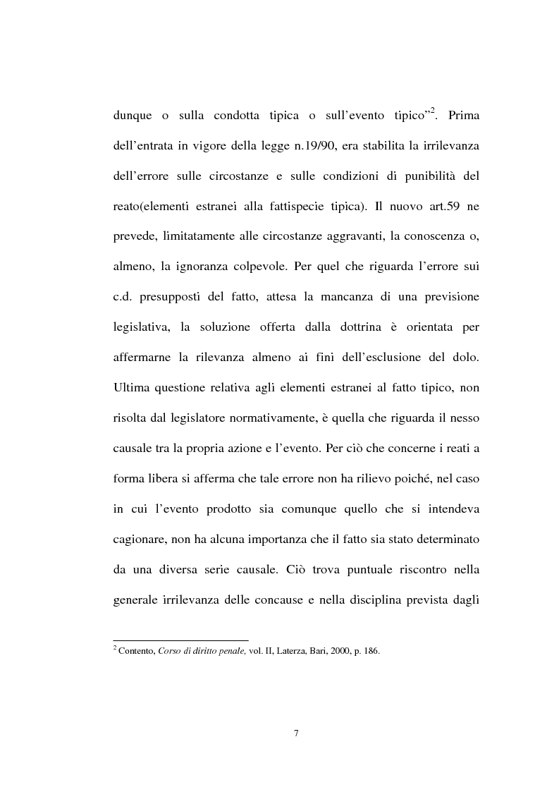 Anteprima della tesi: Ignorantia legis scusabile ed inescusabile. Orientamenti dottrinari e giurisprudenziali con particolare riferimento al settore ambientale, Pagina 4