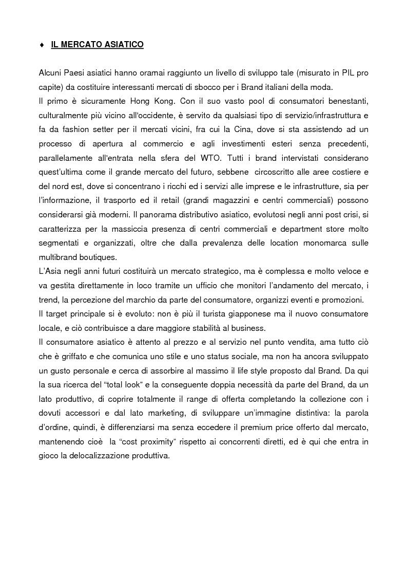 Anteprima della tesi: Internazionalizzazione e delocalizzazione globale nel settore abbigliamento: le opportunità in Asia, Pagina 10