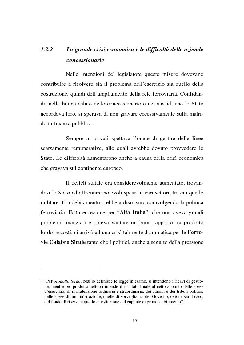 Anteprima della tesi: Evoluzione strategico organizzativa del Gruppo Ferrovie dello Stato S.p.A., Pagina 10