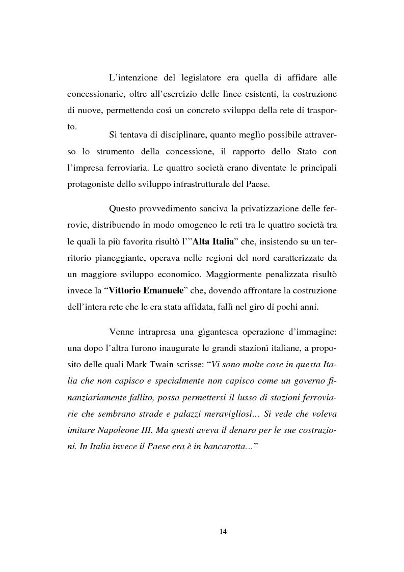 Anteprima della tesi: Evoluzione strategico organizzativa del Gruppo Ferrovie dello Stato S.p.A., Pagina 9