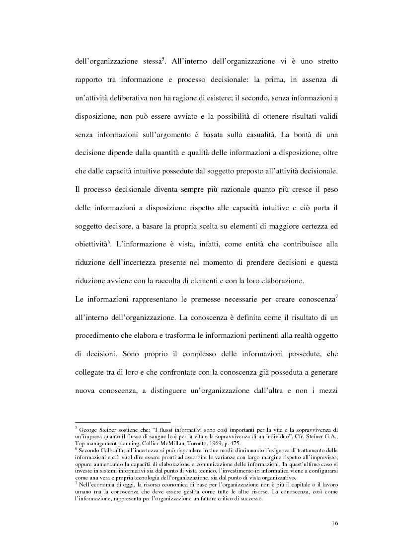 Anteprima della tesi: Prime evidenze sulle interrelazioni tra sistemi Erp e Crm, Pagina 8