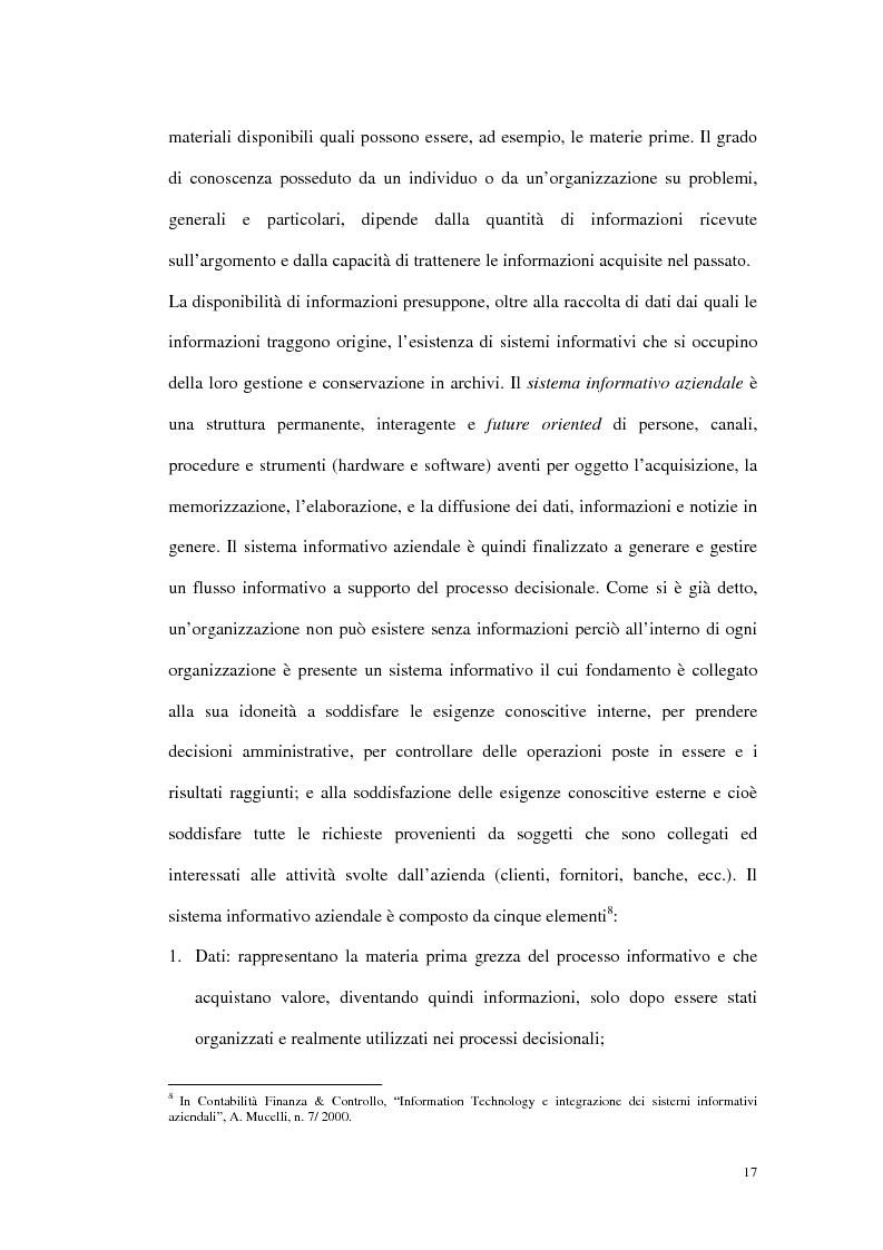 Anteprima della tesi: Prime evidenze sulle interrelazioni tra sistemi Erp e Crm, Pagina 9