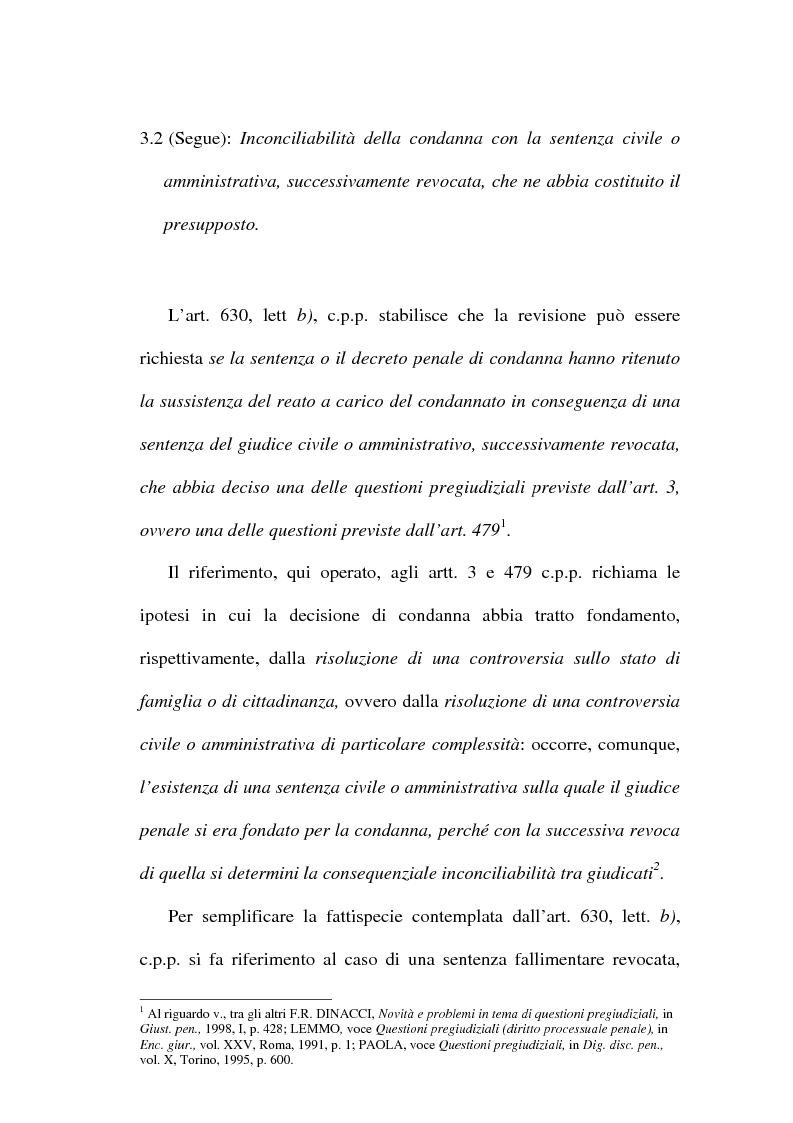 Anteprima della tesi: Il concetto di ''nuove prove'' ai fini della revisione, Pagina 9