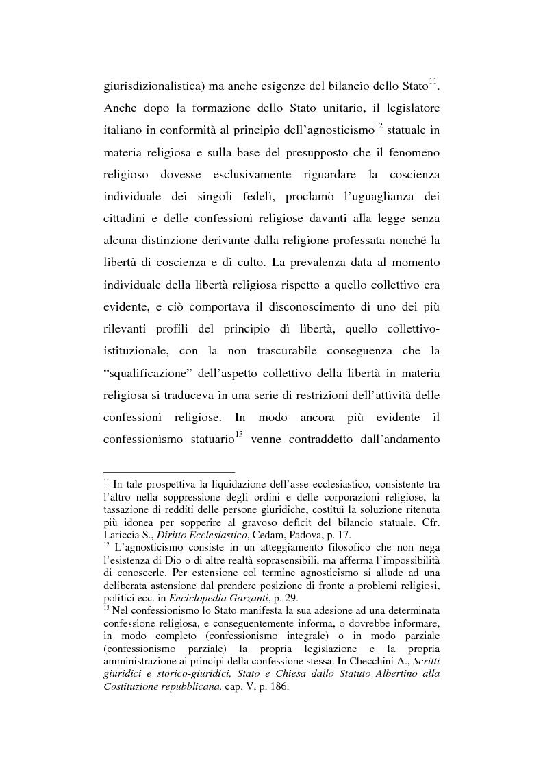 Anteprima della tesi: La presenza del crocifisso nei luoghi pubblici, Pagina 13