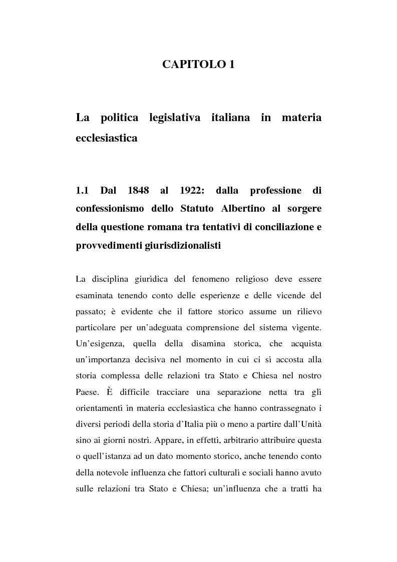 Anteprima della tesi: La presenza del crocifisso nei luoghi pubblici, Pagina 6