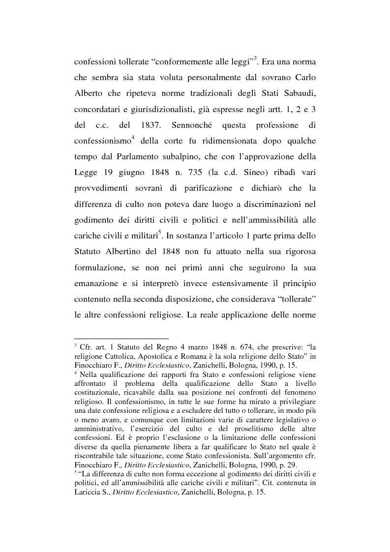 Anteprima della tesi: La presenza del crocifisso nei luoghi pubblici, Pagina 9