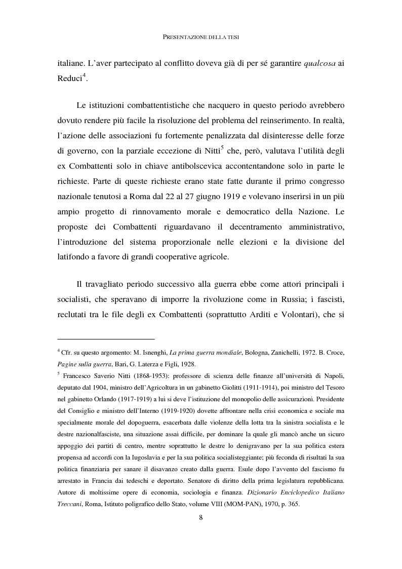 Anteprima della tesi: La memoria dei caduti nella Grande Guerra nella città di Como (1919-1939), Pagina 4