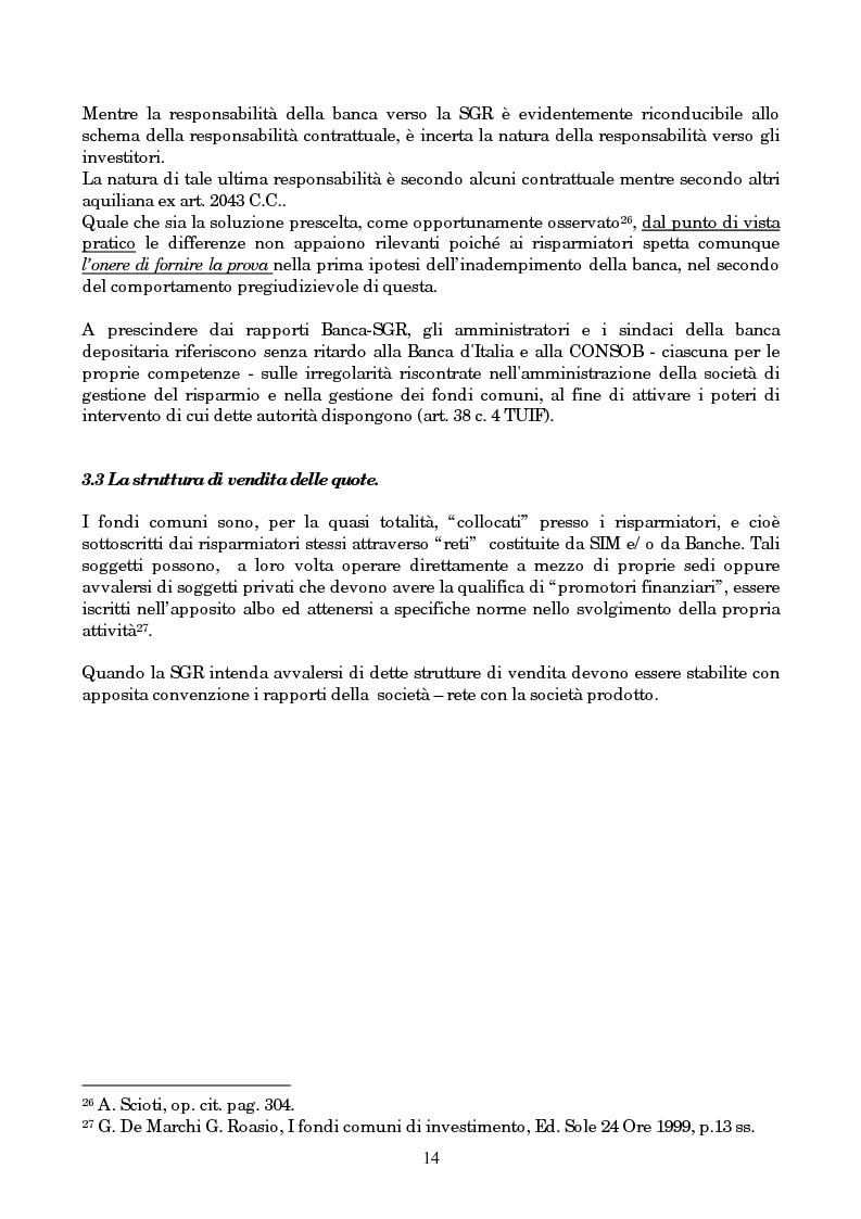 Anteprima della tesi: Linee evolutive del mercato finanziario italiano: fondi comuni di investimento, fondi pensione e piani pensionistici individuali. Regolamentazione e controlli, Pagina 11