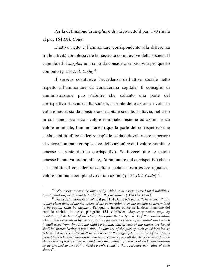 Anteprima della tesi: Azioni correlate e tracking stocks, Pagina 12