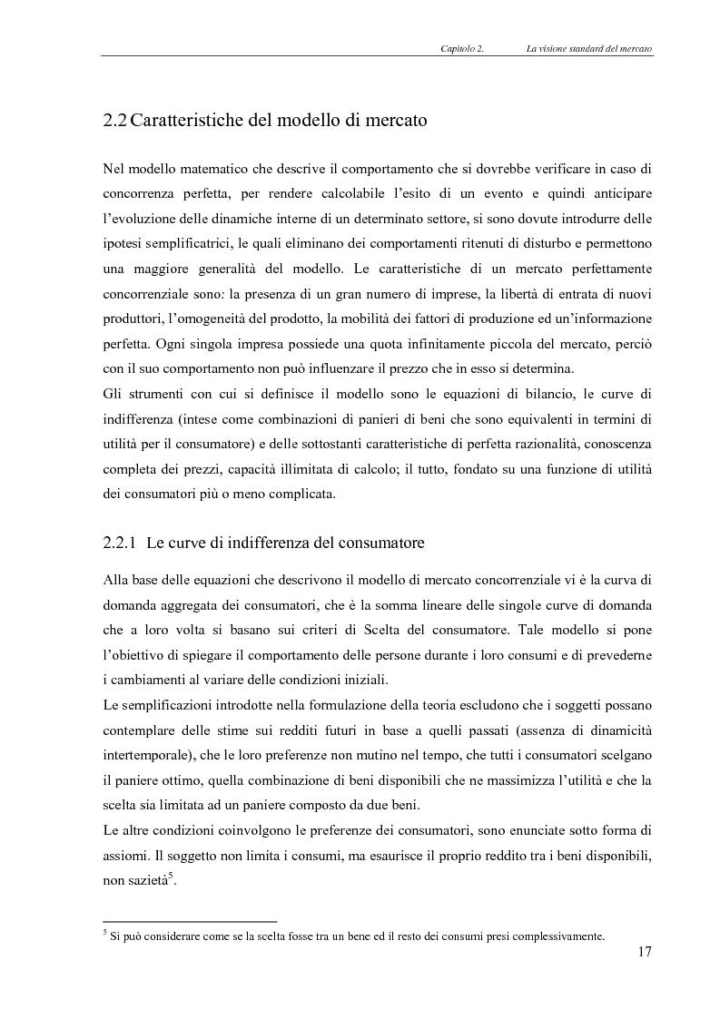 Anteprima della tesi: Realismo nel modello della concorrenza, un'esplorazione con Swarm e JAS, Pagina 11